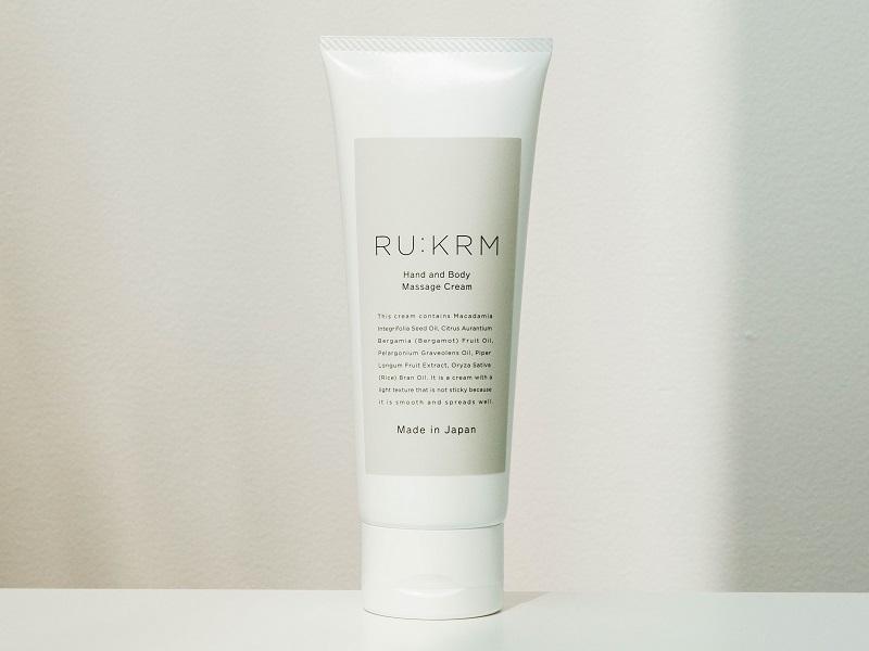 RU:KRM ハンド&ボディマッサージクリーム